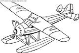 Imprimer le coloriage : Avion numéro 3587