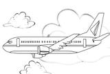 Imprimer le coloriage : Avion, numéro 3593