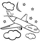 Imprimer le coloriage : Avion, numéro 663