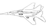 Imprimer le coloriage : Avion numéro 665