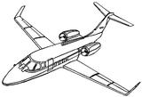 Imprimer le coloriage : Avion, numéro 7271