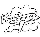Imprimer le coloriage : Avion, numéro 7274