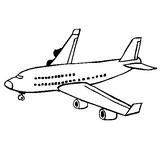 Imprimer le coloriage : Avion, numéro 8463