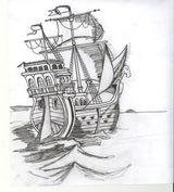 Imprimer le dessin en couleurs : Bateau, numéro 14921
