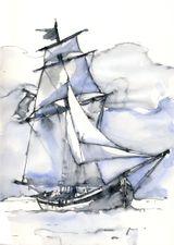 Imprimer le dessin en couleurs : Bateau, numéro 14933