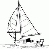 Imprimer le coloriage : Bateau, numéro 1823