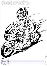 Imprimer le dessin en couleurs : Moto, numéro 19264