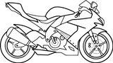 Imprimer le coloriage : Moto, numéro 1e174d8f