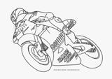 Imprimer le coloriage : Moto, numéro 3852