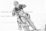 Imprimer le coloriage : Moto, numéro 490003