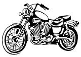 Imprimer le coloriage : Moto, numéro 530