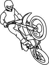 Imprimer le coloriage : Moto, numéro 540