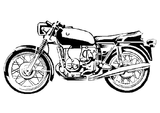 Imprimer le coloriage : Moto, numéro 755110
