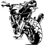 Imprimer le coloriage : Moto, numéro 7707