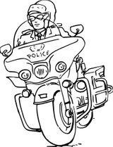 Imprimer le coloriage : Moto, numéro 911c1587