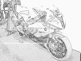 Imprimer le coloriage : BMW, numéro 285412