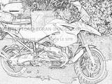 Imprimer le coloriage : BMW, numéro 368875