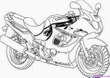 Imprimer le coloriage : BMW, numéro 754011