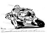Imprimer le coloriage : Ducati, numéro 237644