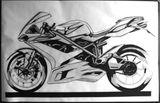 Imprimer le coloriage : Ducati, numéro 237676