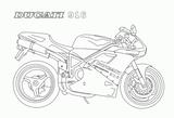 Imprimer le coloriage : Ducati, numéro 237680