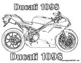Imprimer le coloriage : Ducati, numéro 753973