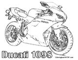 Imprimer le coloriage : Ducati, numéro f6d7a1d4