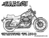 Imprimer le coloriage : Harley-Davidson, numéro a535f2e0