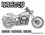 Imprimer le coloriage : Harley-Davidson, numéro da2bebbc