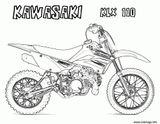 Imprimer le coloriage : Kawasaki, numéro 7594263a