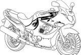 Imprimer le coloriage : Suzuki, numéro 3b30f253