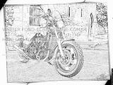 Imprimer le coloriage : Yamaha, numéro 237785