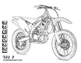 Imprimer le coloriage : Yamaha, numéro ae454a06
