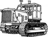 Imprimer le coloriage : Tracteur, numéro 146070
