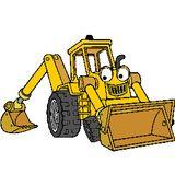Imprimer le dessin en couleurs : Tracteur, numéro 19348