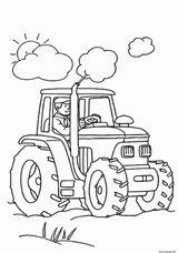 Imprimer le coloriage : Tracteur, numéro 1fa83a75