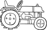 Imprimer le dessin en couleurs : Tracteur, numéro 20920
