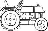 Imprimer le coloriage : Tracteur, numéro 34024b4e