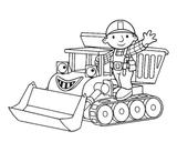Imprimer le coloriage : Tracteur, numéro 3717