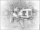 Coloriages imprimer v hicules tracteur page 7 - Tracteur tom avion ...
