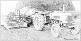 Imprimer le coloriage : Tracteur, numéro 53745