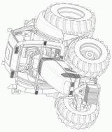 Imprimer le coloriage : Tracteur, numéro 53749