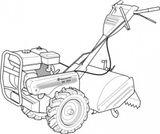 Imprimer le coloriage : Tracteur, numéro 5376