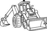 Imprimer le coloriage : Tracteur, numéro 53fb2559