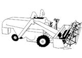 Imprimer le coloriage : Tracteur, numéro 606