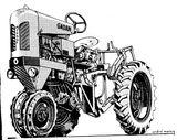 Imprimer le coloriage : Tracteur, numéro 615757
