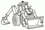 Imprimer le coloriage : Tracteur, numéro 6f525eec
