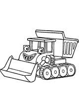 Imprimer le coloriage : Tracteur, numéro a2ce6f48