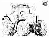 Imprimer le coloriage : Tracteur, numéro e2fd0a88