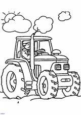 Imprimer le coloriage : Tracteur, numéro f14101f3